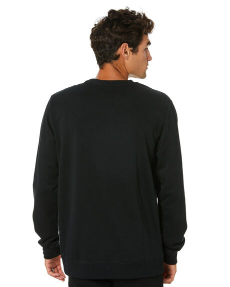 BLACK MENS CLOTHING VOLCOM JUMPERS - A4601908BLK