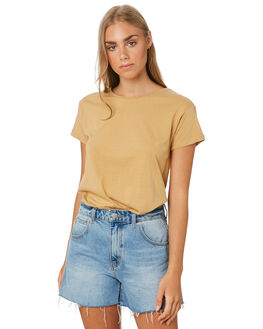 SAND WOMENS CLOTHING SILENT THEORY TEES - 6085027SAND