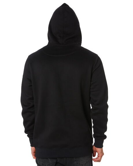 BLACK MENS CLOTHING RUSTY JUMPERS - FTM0902BLK