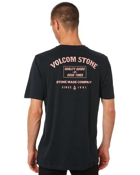 BLACK OUTLET MENS VOLCOM TEES - A5001937BLK