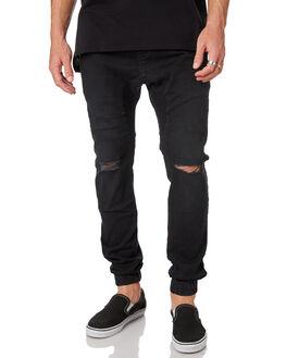 SMOKEY BLACK MENS CLOTHING ZANEROBE PANTS - 724-MAKSMOBK