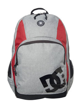 GREY HEATHER MENS ACCESSORIES DC SHOES BAGS - EDYBP03133KNFH
