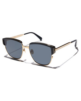 GLOSS BLACK GOLD MENS ACCESSORIES OSCAR AND FRANK SUNGLASSES - 020BLGBLKG