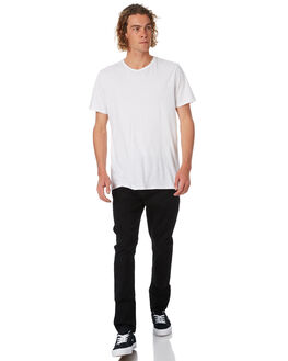 BLACK MIRROR MENS CLOTHING A.BRAND JEANS - 808121324
