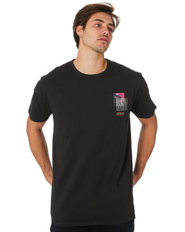BLACK MENS CLOTHING ST GOLIATH TEES - 4331057.BLK