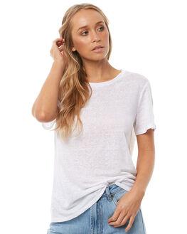 WHITE WOMENS CLOTHING NEUW TEES - 37751001