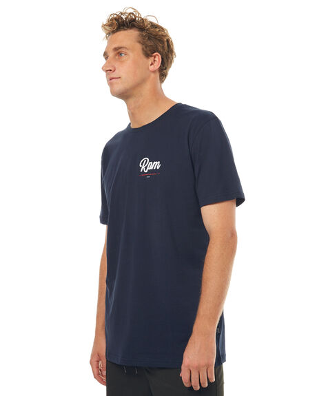 NAVY MENS CLOTHING RPM TEES - 7SMT05ANVYW
