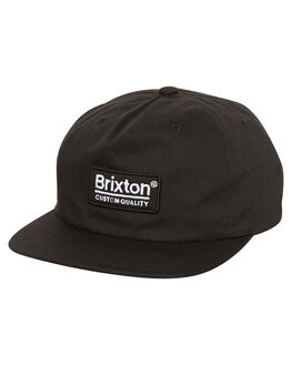 BLACK MENS ACCESSORIES BRIXTON HEADWEAR - 00979BLK