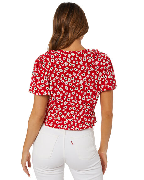 COSMOS FLORA WOMENS CLOTHING RUE STIIC FASHION TOPS - SA-21-26-2-CF-RKCFL