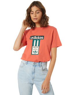 SCARLET WOMENS CLOTHING ADIDAS TEES - DH4669SCA