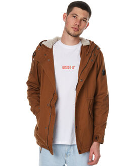 TOBACCO MENS CLOTHING GLOBE JACKETS - GB01737001TOB