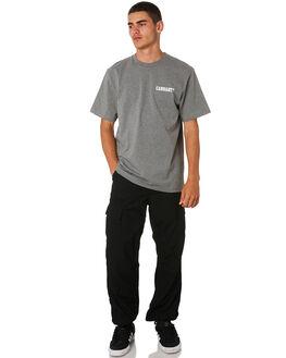 DARK GREY MENS CLOTHING CARHARTT TEES - I024806DGRY