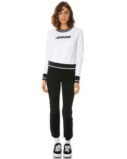 WHITE WOMENS CLOTHING SANTA CRUZ JUMPERS - SC-WFA8547WHT