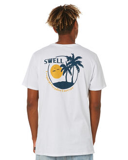 WHITE MENS CLOTHING SWELL TEES - S5203007WHITE