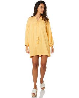 MANDARINE WOMENS CLOTHING SAINT HELENA DRESSES - SHSP19311CMANDARINE