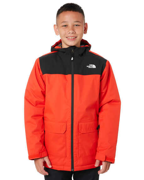 FIERY RED BOARDSPORTS SNOW THE NORTH FACE KIDS - NF0A3NI615Q