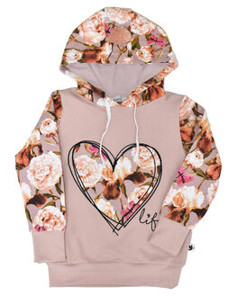 FLORAL KIDS GIRLS KISSED BY RADICOOL JUMPERS + JACKETS - KR0933FLR
