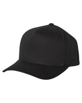 BLACK MENS ACCESSORIES FLEX FIT HEADWEAR - 181000BLK
