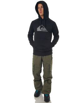 BLACK MENS CLOTHING QUIKSILVER JUMPERS - EQYFT03635KVJ0
