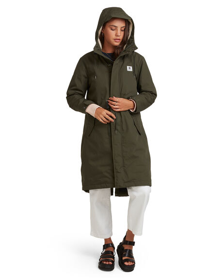 FOREST NIGHT WOMENS CLOTHING ELEMENT JACKETS - EL-417458-FN4