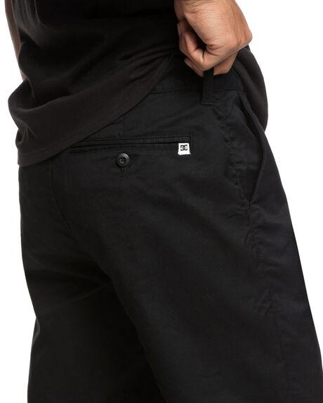BLACK MENS CLOTHING DC SHOES SHORTS - EDYWS03111KVJ0