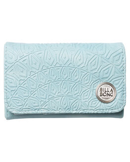 AQUA SPLASH WOMENS ACCESSORIES BILLABONG PURSES + WALLETS - 6675202GAQUA