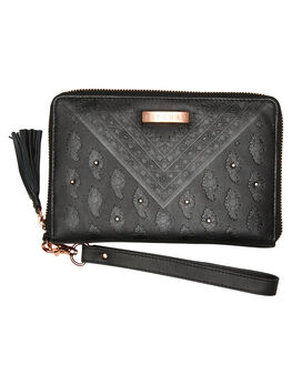 BLACK WOMENS ACCESSORIES RIP CURL PURSES + WALLETS - LWLDQ10090