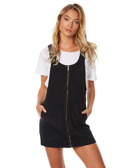 STONE BLACK WOMENS CLOTHING AFENDS DRESSES - 51-03-126SNBLK