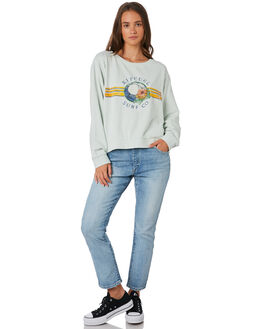 ICE BLUE WOMENS CLOTHING RIP CURL JUMPERS - GFENA9-3807