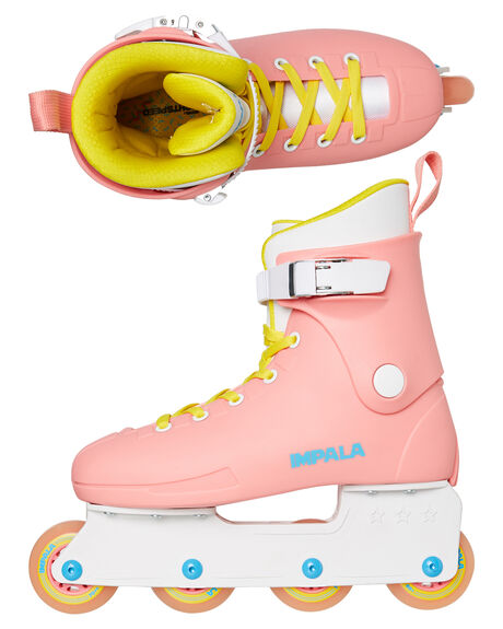 PINK YELLOW BOARDSPORTS SKATE IMPALA ACCESSORIES - IMPINLINE1PNK