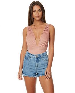 DUSTY PINK WOMENS CLOTHING SOMEDAYS LOVIN FASHION TOPS - SL1608955DPNK
