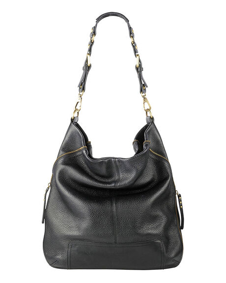 BLACK WOMENS ACCESSORIES STATUS ANXIETY HANDBAGS - SA7101BLK1