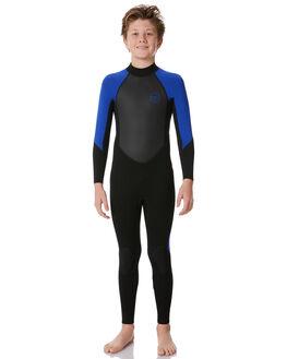 BLACK ROYAL BLUE BOARDSPORTS SURF XCEL BOYS - KX32GCS8BRB