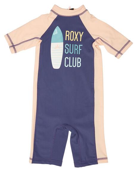 DEEP COBALT SURF RASHVESTS ROXY TODDLER GIRLS - ERLWR03070BRE0