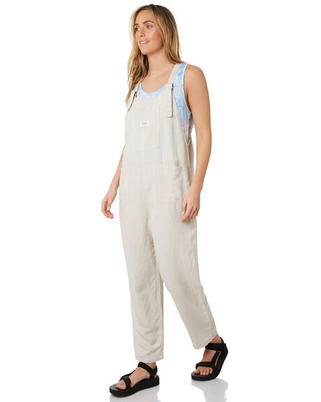 NATURAL WOMENS CLOTHING STUSSY PLAYSUITS + OVERALLS - ST193608NAT