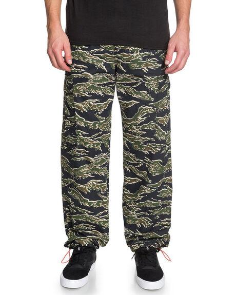 S1 20 CAMO MENS CLOTHING DC SHOES PANTS - EDYNP03159-KVJ4