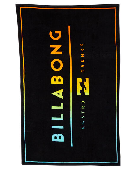 BLACK ACCESSORIES TOWELS BILLABONG  - 9671702BLK