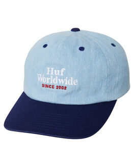 TWILIGHT BLUE MENS ACCESSORIES HUF HEADWEAR - HT00182TWBLU