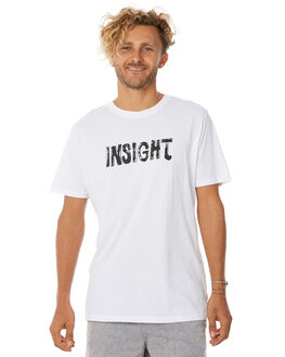 WHITE OUTLET MENS INSIGHT TEES - 5000001840WHT