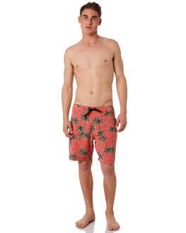 WASHED RED MENS CLOTHING BANKS BOARDSHORTS - BS0152_WRD