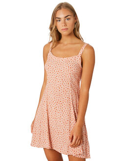 PEACH WOMENS CLOTHING THE HIDDEN WAY DRESSES - H8201449PEACH