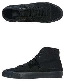 BLACK MENS FOOTWEAR HUF HI TOPS - VC00102-BLACK