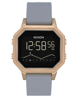 LIGHT GOLD GRAY WOMENS ACCESSORIES NIXON WATCHES - A1211-3163