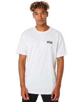 WHITE MENS CLOTHING VANS TEES - VNA454PWHTWHT