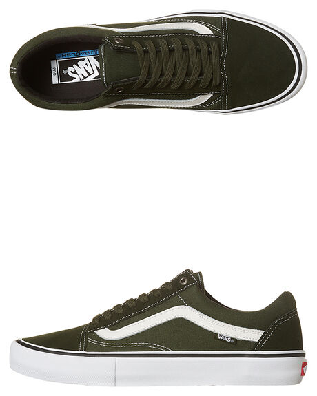 bdc052efa6 Vans Old Skool Pro Shoe - Rosin White