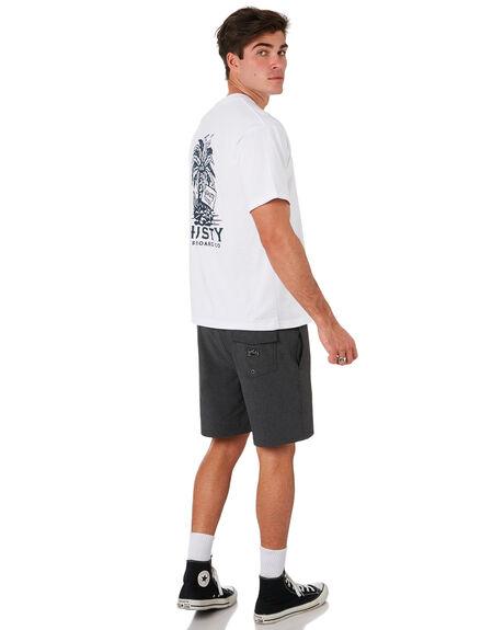 WHITE MENS CLOTHING RUSTY TEES - TTM2321WHT