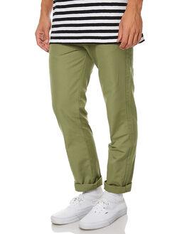 MASH GREEN MENS CLOTHING MOLLUSK PANTS - MS1278MGR