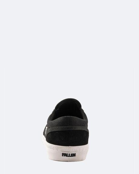 BLACK WHITE MENS FOOTWEAR FALLEN SNEAKERS - FMH1ZA155BLW99