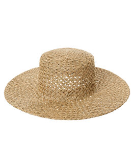NATURAL WOMENS ACCESSORIES LACK OF COLOR HEADWEAR - SEAGR1NAT