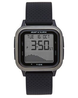 GUNMETAL MENS ACCESSORIES RIP CURL WATCHES - A11370036